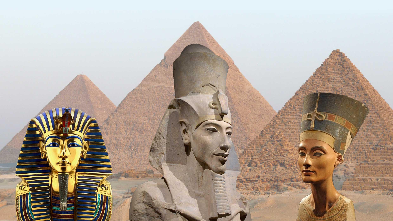 Da Akhenaton a Tuthankamon archeologia e mito dei Faraoni del Sole